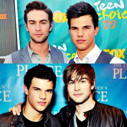 Taylor with chace crawford