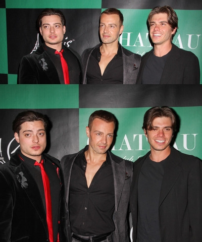 Matthew with his two brothers, Joey and Andy. :)