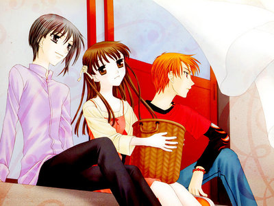 Kaichou wa Maid-sama Ouran High School Host Club Fruits Basket (picture)