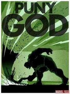 """Puny God!"" Great moment...."