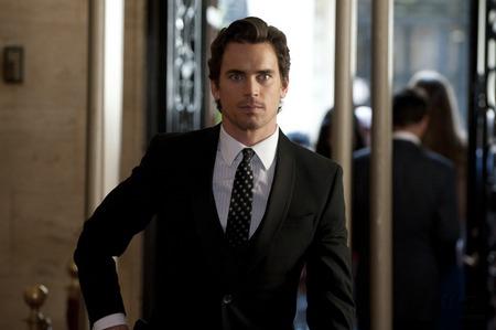 Matt Bomer looking smart in his suit.