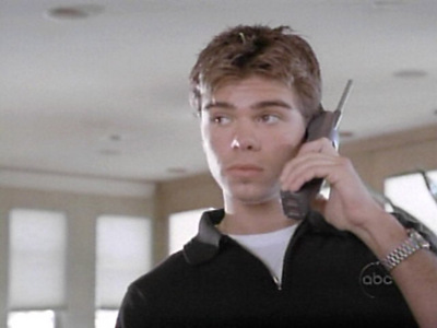 My man on the wireless phone. :)