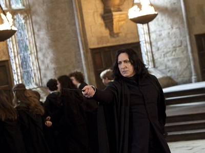 Why?!...because he is SEVERUS !!! :)))))))))))))))))))))))))) @--/-----
