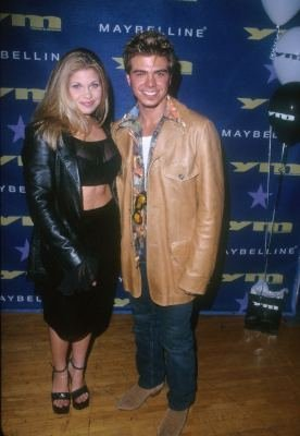 Matthew Lawrence with his co-star, Danielle Fishel. :)