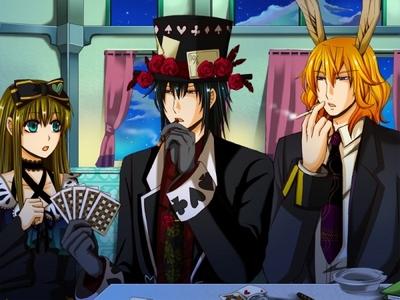 Blood durpe playing poker!!!