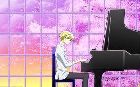 Tamaki playing the piano~