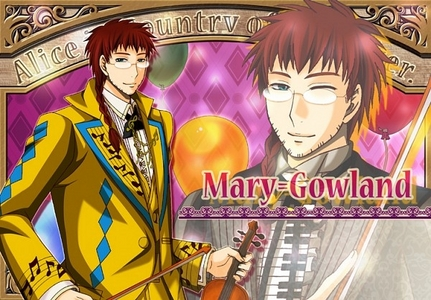 Gowland from Alice in the country of hearts :)
