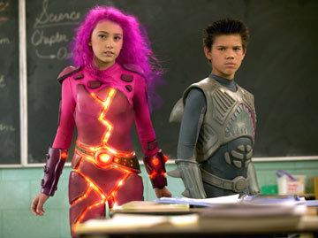 Taylor Lautner in The adventures of Sharkboy and Lavagirl