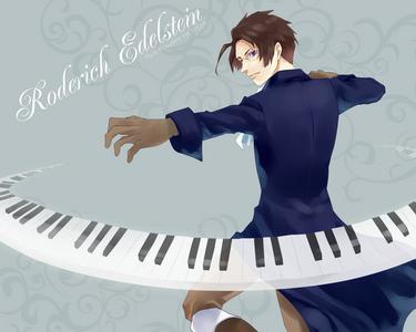 Austria plays the piano.