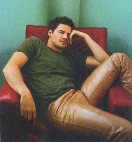 My honey in a green T-shirt <3