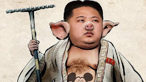 No. Kim Jong-Un doesn't have the right men trained या the firepower to attack us, he's doing it to cause controversy so others will be afraid, most likely he'll have to surrender if he attempts this act. He's just another bratty, brutal prince from a dark era. Now I shall post this picture in honor of how much cowardness he has.