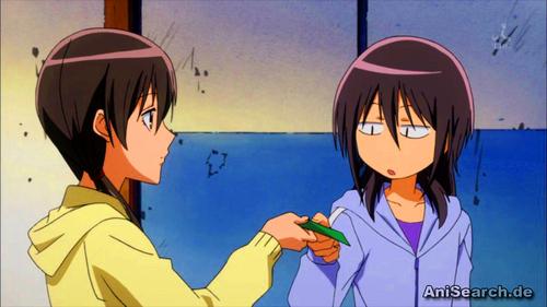 Kawaii sibling Misaki and Suzuna<3333