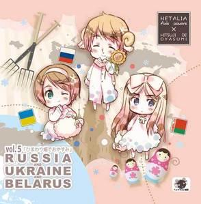 Russia, Ukraine, and Belarus!