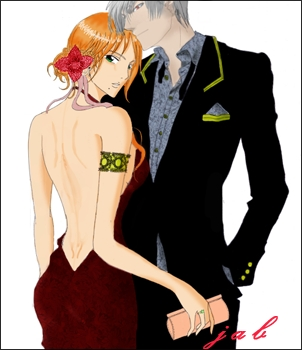 rangiku / alak the best couple ever......................heh eh hehe