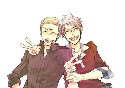 Germany and Prussia~ <3