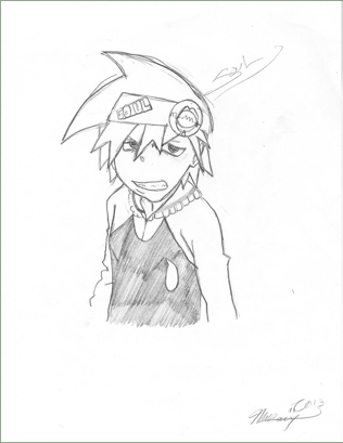Soul Eater :D ~My Artwork By The Way~