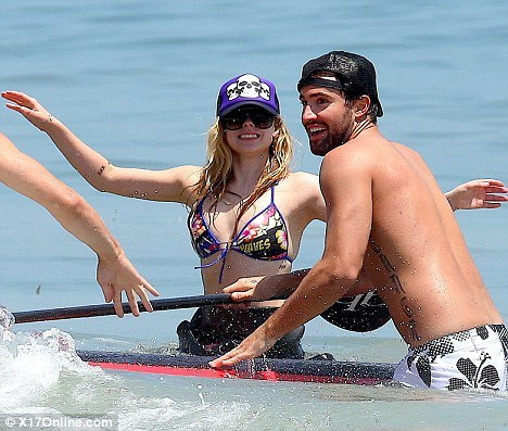 Avril and Brody Jenner - Bruce Jenner's (Kris Kardashian's husband's) son:
