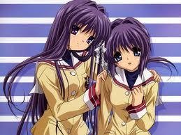 Fujibiashi Sisters from Clannad