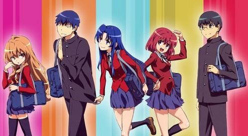 Toradora characters.