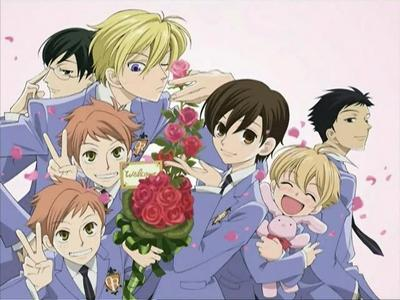 Ouran Highscool Host Club is defenitley not ecchi ! ^^ xD