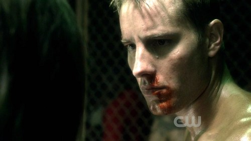 """Ollie at the beginning of """"Savior"""", where he is part of an underground fight club <33"""