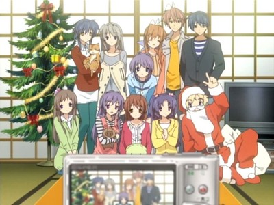 Clannad/Clannad After Story :) Overall, best story i've seen yet! And definitely not ecchi!