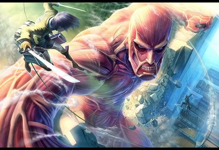 new জীবন্ত - Attack on Titan (Shingeki no Kyojin) a Titan