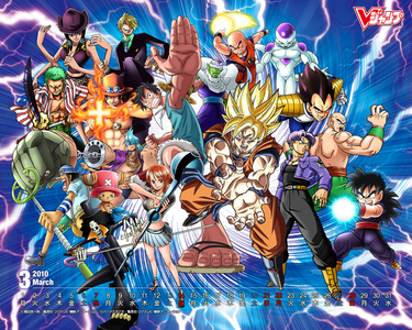 ONE PIECE AND DRAGON BALL Z!!!