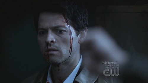 Mischa Collins as Castiel in the episode 'On the head of a pin' in Сверхъестественное