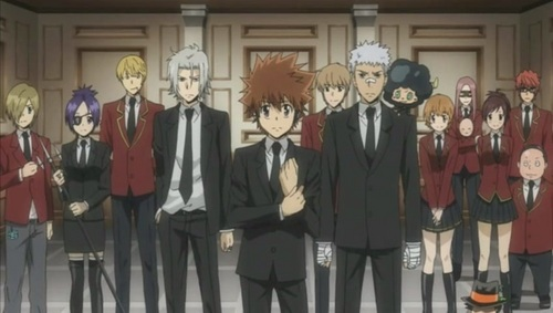First one I thought of. XD The Vongola Famiglia. ~
