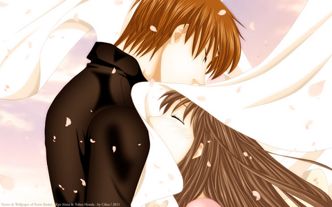Kyo and Tohru from Fruits Basket! ^^