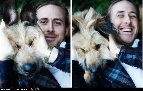 Adorable Ryan and his dog!