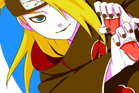 Deidara from Naruto. I read the Manga before I started watching the anime, so.. I didn't hear his voice and I thought he was a girl until I watched the Anime and heard the male voice. ^^;