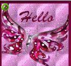 a rosa, -de-rosa butterfly!
