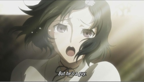 Ruka from Steins; Gate...i'm guessing i don't need to explain what i thought