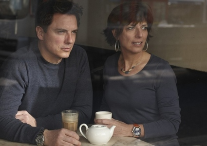 John Barrowman with his sister, Carole :)