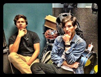 Cameron Quiseng & Zach Porter from Allstar Weekend <3