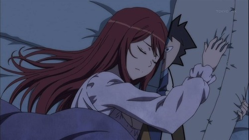 Aren't body pillows the creepiest thing? But this is sweet too. Maoyu.