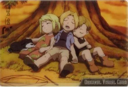 Winry, Ed, and Al~ so cute~~ >w<