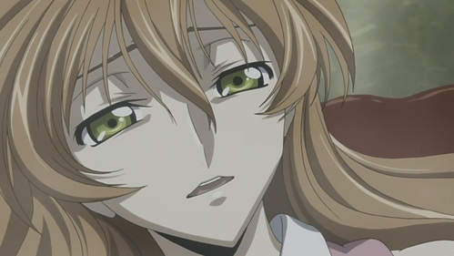"""Shirley Fenette from Code Geass. """"So is that okay then Lulu? And as i'm reborn, I'll fall in Liebe with Du over and over I'll keep falling in Liebe with..."""""""