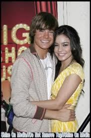 Here's Zac Efron & Vanessa Hudgens. I'm part of their shipping club, don't they look perfectly lovely & cute together :):