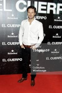 Fernando in a premiere