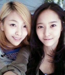 Luna & Krystal from f(x)