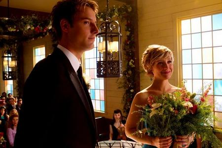 "Ollie and Chloe at THE wedding in ヤング・スーパーマン (""Finale"") <333"