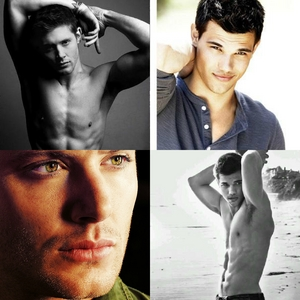 taylor and jensen would l'amour to see them act together :)
