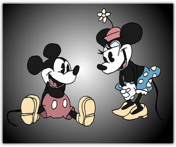 Disney was my childhood. mary poppins, cinderella, pochantas, bạn name it. the fact that ol' walt has this kind of Disney spell still affecting me, i don't want it to go away. mickey and minnie were my childhood. and i wouldn't have it any other way ♥