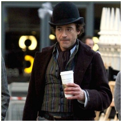 ^^ haha coffee addicted sherlock