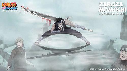 "zabuza momochi (naruto) ""Assasin from the mist"" the master of silent killing"