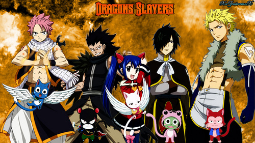 All Dragon Slayers Fairy Tail Photos 4