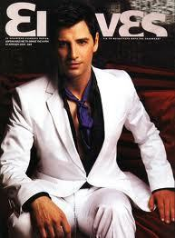 Sakis in a magazine cover.